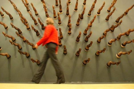 Exposición en el CaixaForum de Barcelona de Salvador Dalí. | Antonio Moreno