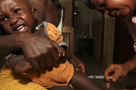 Campaña de vacunación en Sierra Leona. | Reuters