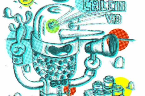 Ilustración sobre suplementos vitamínicos. | Bárbara Perdiguera