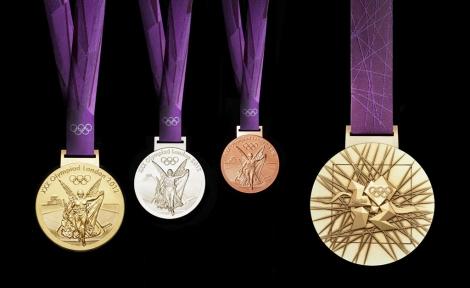 Medallas conmemorativas de Londres 2012. | Foto: El Mundo