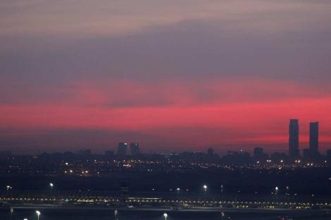 Panorámica de Madrid con la 'boina' de la contaminación | Alberto Di Lolli
