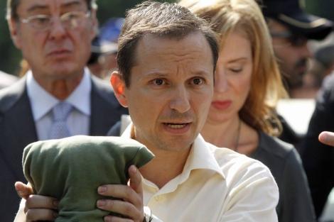 El padre de los dos niños desaparecidos en Córdoba. | Efe