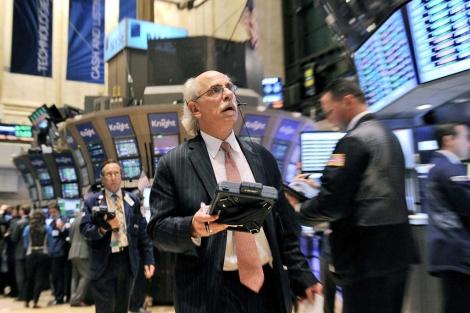 Un corredor de la Bolsa de Valores de Nueva YOrk (EEUU).   Efe