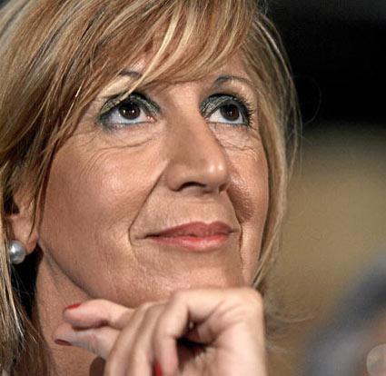 Rosa Diez, lider contra el terrorismo y el vendido socialismo