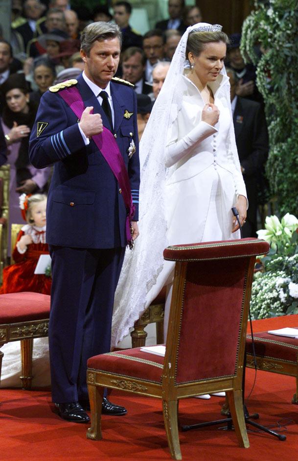 casas y familias reales: bélgica: boda de felipe y matilde