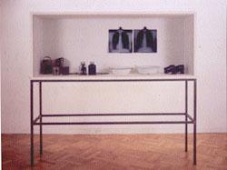 Vitrina Beuys, utilizado para la entrada la evolución del bodegón realizada para la academia de dibujo y pintura Artistas6 de Madrid.