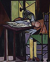 'Mujer leyendo' (1935).