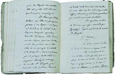 Informes. Diarios y anotaciones astrológicas de Alí Bey durante su estancia en La Meca, que remitió a España.