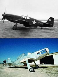 Mustang P-51(1940) y Mustang T-51/Titan Aircraft (2003)