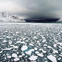 Atomizado. El casquete polar se deshiela en Longyearbyen, en las noruegas islas Spitzberg.