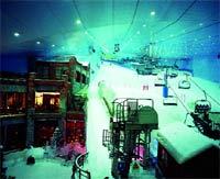 El Ski Dubai para esquiar bajo techo.
