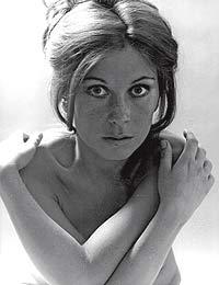María José Goyanes. Imagen tomada en 1974.