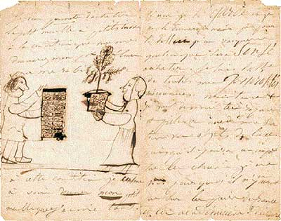 Pasión de alcance. Extracto de una de las 18.000 cartas que Juliette Drouet se intercambió con Victor Hugo durante medio siglo.