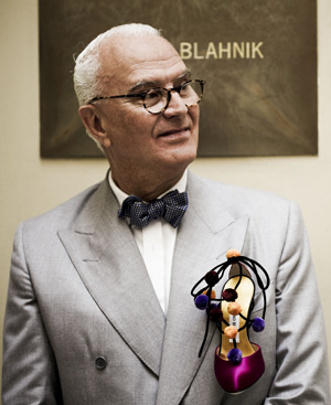 El dise?ador Manolo Blahnik.
