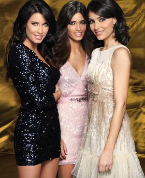 Las tres presentadoras son la gran apuesta de la cadena para 2011. (Foto: Gtresonline)
