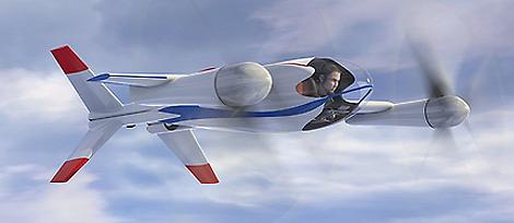 Prototipo del vehículo presentado por la NASA.