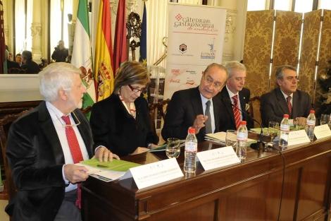 Imagen de la presentación del máster.   Nacho Alcalá